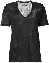 Isabel Marant Maree T-shirt - women - Linen/Flax - L