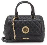 Love Moschino Borsa Nappa Top-Zip Crossbody Bag