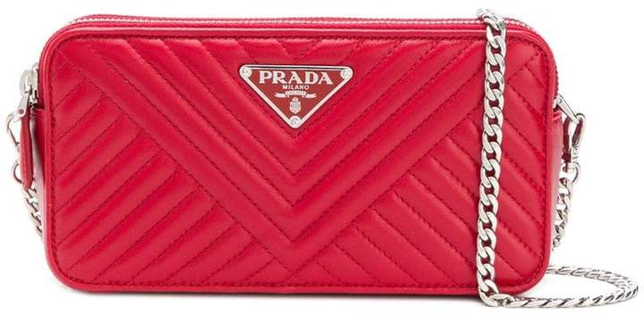 33114c19deb002 Prada Quilted Leather Handbags - ShopStyle