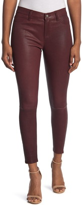 L'Agence Adelaide High Waisted Leather Pants
