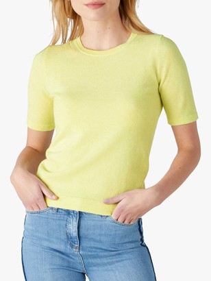 Pure Collection Cashmere Knitted T-Shirt