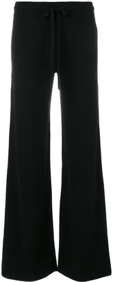 Pringle Flared Knitted Trousers