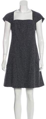 Chanel Wool-Blend Tweed Dress