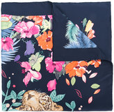 Salvatore Ferragamo jungle print scarf