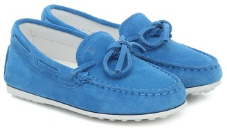 Tod's New City Gommino suede loafers