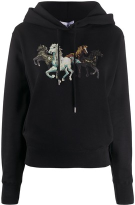 Kenzo Horse-Print Hoodie