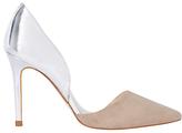 Karen Millen Two Part Court Shoes, Nude