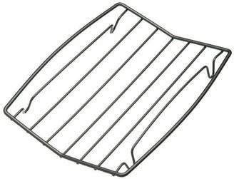 MasterPro Non-Stick Steel Roasting Rack 26 x 3 x 23cm Black