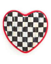 Mackenzie Childs MacKenzie-Childs Courtly Check Heart Pot Holder