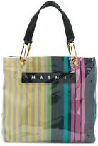 Marni Striped Tote Bag