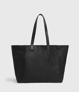 AllSaints Cutler Leather Tote Bag
