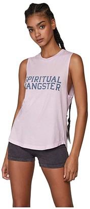 Spiritual Gangster Muscle Tank (Stardust) Women's Clothing