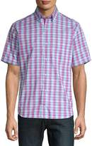 Tailorbyrd Men's Loch Cotton Button-Down Shirt