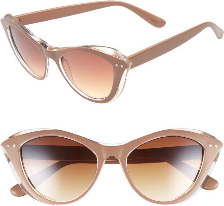 BP 50mm Retro Cat Eye Sunglasses