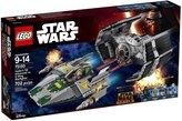Lego Star Wars Vader's TIE Advanced vs. A-Wing Starfigh - 75150