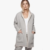 James Perse Reversible Wool Blend Coat