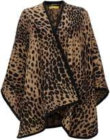 Camel Animal Print Wrap