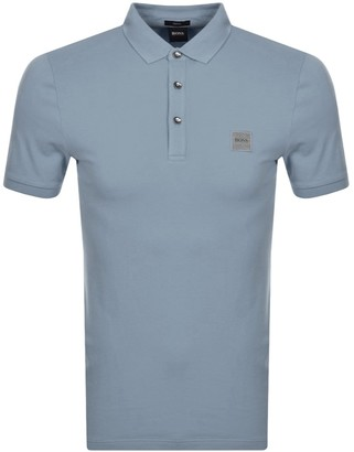 BOSS Passenger Polo T Shirt Grey