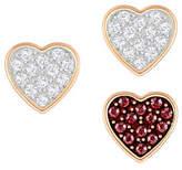 Swarovski Three-Piece Crystal Wishes Pierced Earrings Set