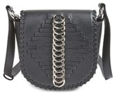 Alexander Wang Mini Lia Woven Rings Leather Crossbody Bag - Black