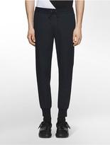 Calvin Klein Platinum Slim Fit Stretch Pique-Textured Jogger Pants