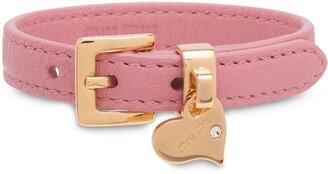 Miu Miu Madras buckle bracelet