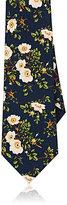 Gucci Men's Floral-Print Silk Necktie