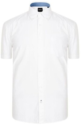 HUGO BOSS Slim Fit Short Sleeve Shirt