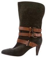 Rebecca Minkoff Distressed Mid-Calf Boots