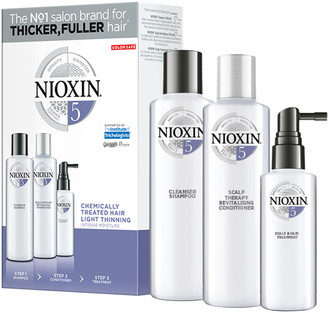 Nioxin 3-Part System Kit 5 For Chemically Treated Hair With Light Thinning