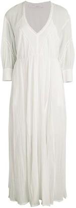 IRO Artistic Cotton Lace Midi Dress