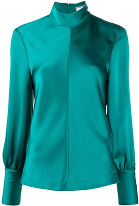 AMI Paris Long-Sleeved Blouse