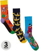 Happy Socks 3pk The Beatles Sock