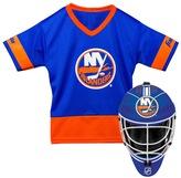 Franklin Sports Youth Franklin New York Islanders Goalie Face Mask & Jersey Set