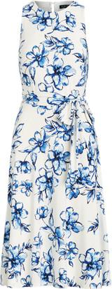 Ralph Lauren Floral Jersey Dress