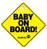 """Safety 1st Baby On Board"""" Sign, 2-Pack"""