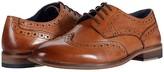 Walk London Tribute Brogue (Black Leather) Men's Shoes