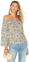 Ella Moss Minori Mosaic Top in Ivory. - size S (also in XS)