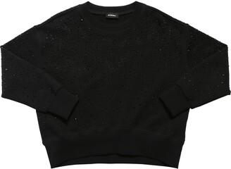 Diesel Embellished Cotton Sweatshirt