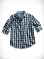 GUESS Big Boy Buffalo Check Shirt (8-20)