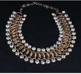 Winter.Z Diamond Multi-storey Explosion models exaggeration fashion retro false collar necklace