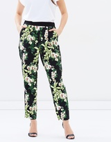 Oasis Tropical Botanical Soft Trousers
