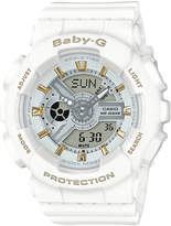 Baby-G Baby G Ba110 Series Watch White