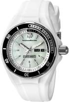 Technomarine Women's 115123 Sea Manta White/Mother of Pearl Silicone Watch