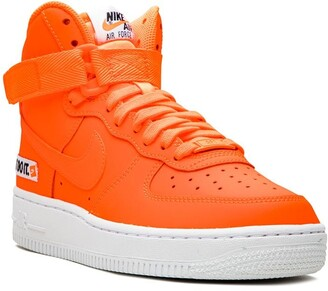 Nike Kids Air Force 1 high-top sneakers