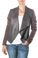 KUT from the Kloth Grey Motorcycle Jacket