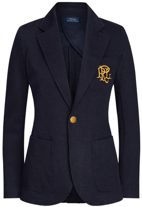 Polo Ralph Lauren Double-Knit Jacquard Blazer