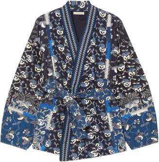 Ulla Johnson Sachi Quilted Printed Cotton-blend Jacket