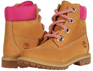 Timberland 6 Heritage Waterproof Convenience Lace Boot (Wheat Full Grain) Women's Shoes
