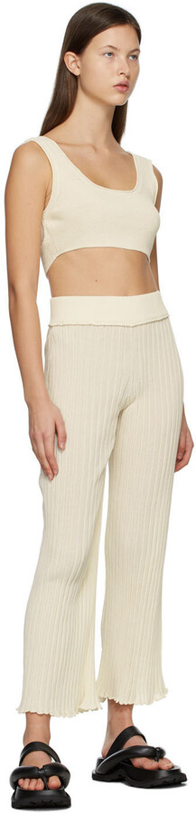 Thumbnail for your product : RUS SSENSE Exclusive Off-White Ombre Lounge Pants
